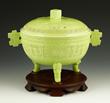 !9th Century Chinese Tripod Gui Bowl