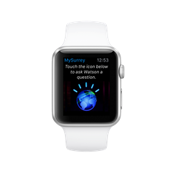 Apple Watch with City of Surrey IBM Watson