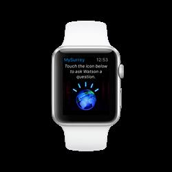 Apple Watch with City of Surrey IBM Watson