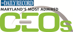 The Daily Record Maryland's Most Admired CEOs logo
