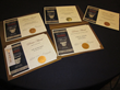 Five of the seven awards earned by New Home Source in the 2015 NAREE Journalism Competition
