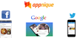 Appnique Managed Service for Mobile User Acquisition Adds Support for New Platforms - Now Including Twitter and Google