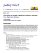 The California Voter Foundation Releases Policy Brief on the VoteCal Project and California's Struggle to Modernize its Statewide Voter Registration Database