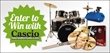 Enter to Win in Cascio Interstate Music's Big Drum Giveaways