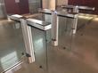 Fastlane Glassgate 300 barrier turnstiles from Smarter Security