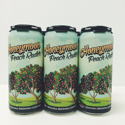 Niagara Brewing Company's Honeymoon Peach Radler is now available at the brewery's location on Clifton Hill.