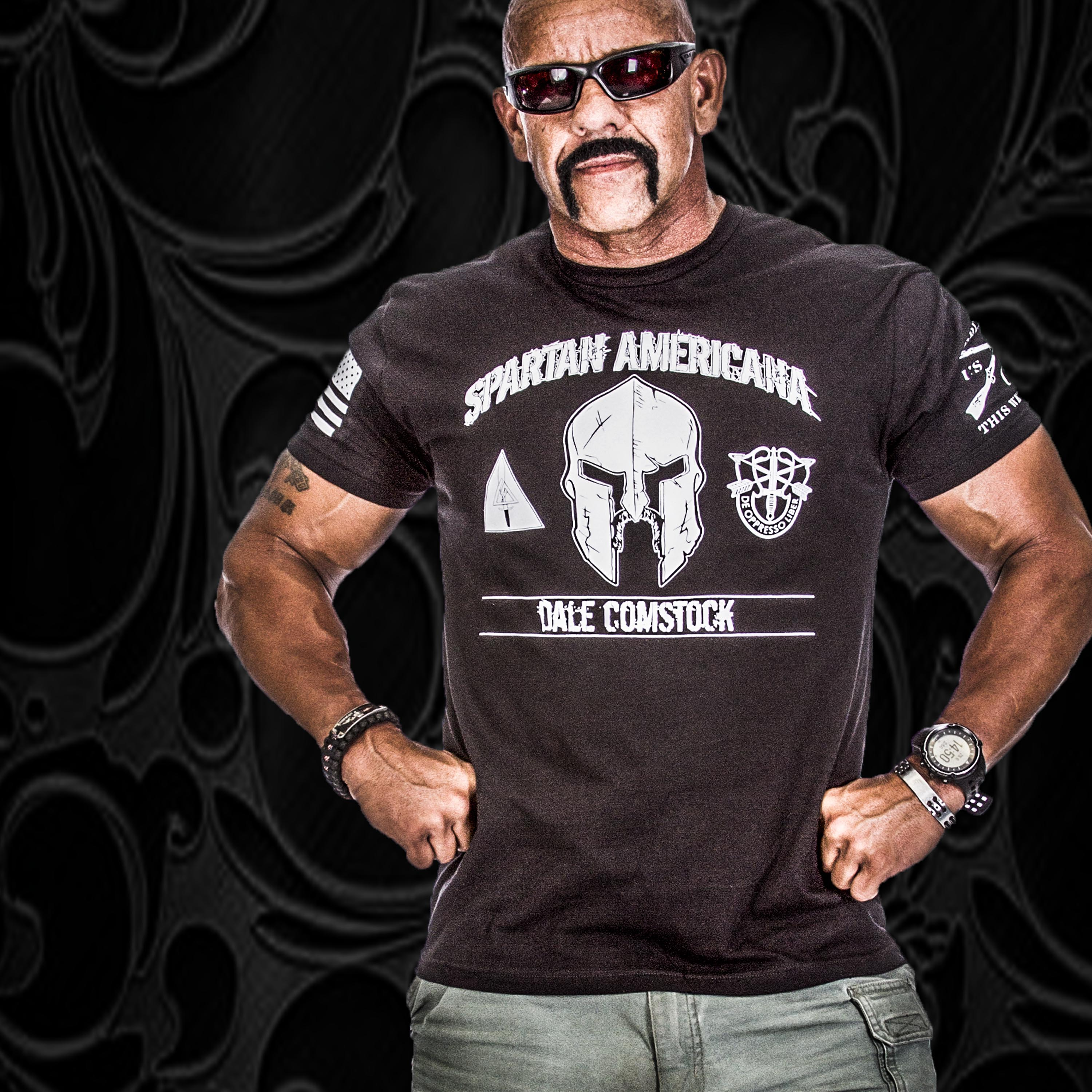 dale comstock designs grunt style t shirt to benefit tapout locos Tapout Hoodies