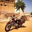 Award winning adventure travel company launches humanitarian missions on motorcycles in India.