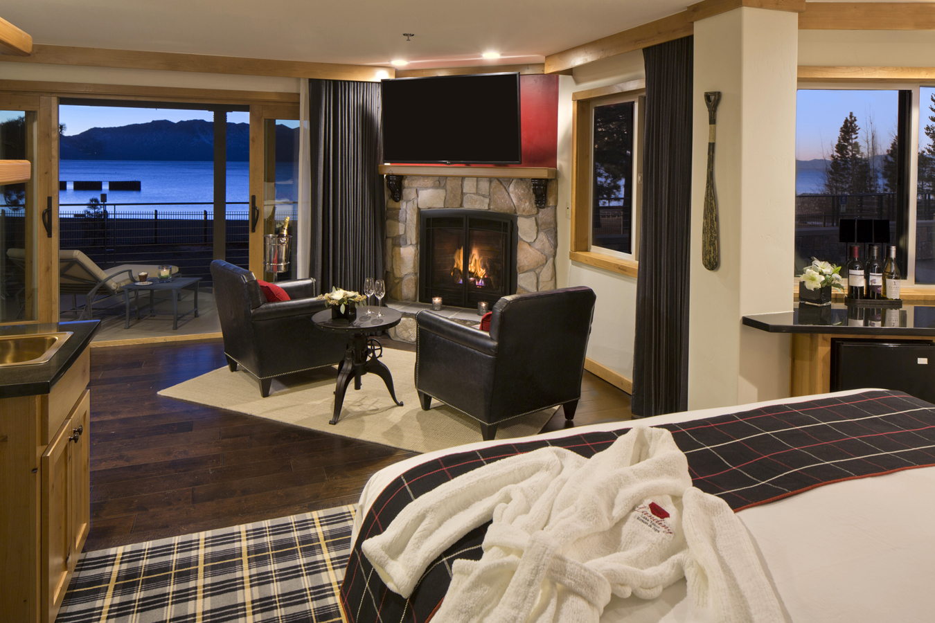 The landing resort spa on lake tahoe offers special for Luxury spa weekends for couples