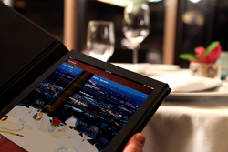 Tiare Technology's patented mobile ordering solutions allow guests to order food, beverages, merchandise and services with an iPad tablet or smartphone app