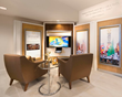 THE NEW UNITED FOR HUMAN RIGHTS FACILITY features an information center devoted to the Universal Declaration of Human Rights. The organization's award-winning audiovisual materials bring all 30 of the Declaration's articles to life.