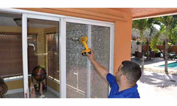 Sliding glass door repair Doral, Florida