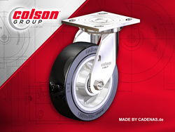 Colson Group USA Launch World's First Caster Models App with Configurable 3D built by CADENAS PARTsolutions