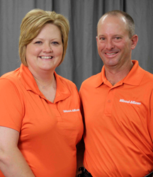 Tim and Kim Hobby from T&K Farms will manage the Wood-Mizer Mississippi Sales Center.