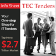 Technology Evaluation Centers Launches TEC Tenders, World's Largest and Most Comprehensive Online Database of IT Public Tenders and RFPs