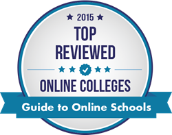 2015 Top Reviewed Online Colleges