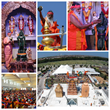 His Holiness Sri Ganapathy Sachchidananda Swamiji Inaugurates One of the Largest Worship Places in the United States - Grand Opening of the Hanuman Temple, Frisco, Texas