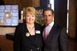 MIAMI Association of Realtors CEO Teresa King Kinney and Miami-Dade Schools Superintendent Alberto Carvalho at Realtor event