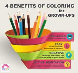 Four Benefits of Coloring for Grown-Ups