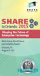 CorreLog, Inc. Announces Semiannual Sponsorship, Technical Sessions Participation at SHARE in Orlando Conference, Aug. 9 - 14