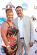 Judge Mathis & wife Linda Reese Mathis attend The Comedy Underground Series