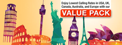 Reliance Global Call Value Pack in the USA