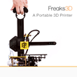 Contribute and Grab the World's First Portable 3D Printer: Freaks3D