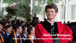 Bertrand Moingeon talks with Sarder TV about his book Organizational Learning & Competitive Advantage