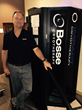 Dj Bosse with his new cryotherapy Octagon