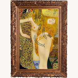 Gustav Klimt - Gold Metalic Art - Part of the New overstockArt.com Luxury Gallery