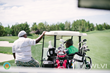 Cedric The Entertainer Hangs with Coach Woodson at Southern Highlands Golf Club