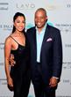 Co-Hosts Seema Sadekar & Jay Harris Walk the Red Carpet At the Coach Woodson Las Vegas Invitational