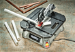 BladeRunner X2 easily cuts PVC or copper pipe for projects and home repairs.