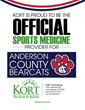 KORT Physical Therapy Named Sports Medicine Provider for Anderson County School System
