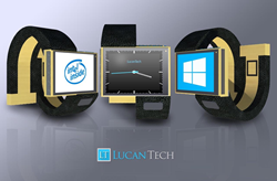 The first smartwatch in the industry to be Windows10 ready and feature Intel Inside.