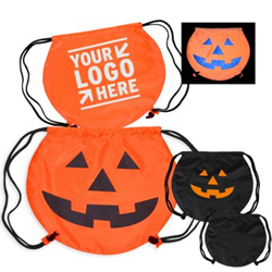 promotional trick-or-treat bag