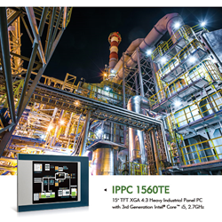 IPPC 1560TE Fanless Industrial Panel PC