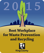 Magnitude Software Honored as a Best Workplace for Recycling and Waste Reduction by King County