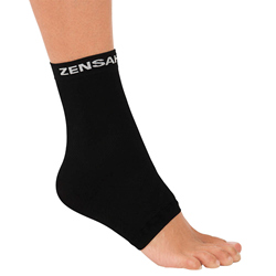 Zensah Compression Ankle Sleeve Relieves Ankle Pain and Plantar Fasciitis