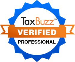 TaxBuzz Verified Professionals have passed a strenuous background