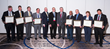 IAC 2015 Awardees (l to r) Dr. Dudley, Dr. Barsness, Dr. Mahmarian, Dr. Farkouh, Dr. Borer, Dr. Kimchi, Dr. Elefteriades, Dr. Thadani, Dr. Amsterdam, Dr. Knowlton, & Dr. Wong (not pictured: Dr. Gertz)