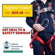 Arkansas Environmental Federation (AEF) Annual Health & Safety Seminar Focuses on Current EHS Challenges