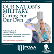 MOAA and WWP host 2015 Warrior-Family Symposium Chairman of the Senate Committee on Veterans' Affairs and the Secretary of Veterans Affairs to Speak