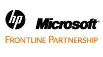HP Microsoft Frontline Award