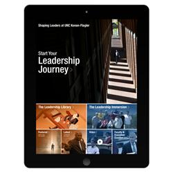 Leadership App Introduced by UNC Kenan-Flagler Business School