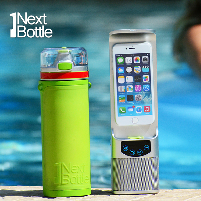 Sports Bottle Phone Case: Next Bottle, The All-in-One Water Bottle, Phone Charger