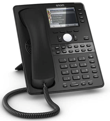 New Snom D765 VoIP Phone with Bluetooth Available at IP Phone...