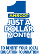 $1 Million in K-12 Support and Counting: 'Just a Dollar' at a Time with Amscot Financial 10th Annual Campaign