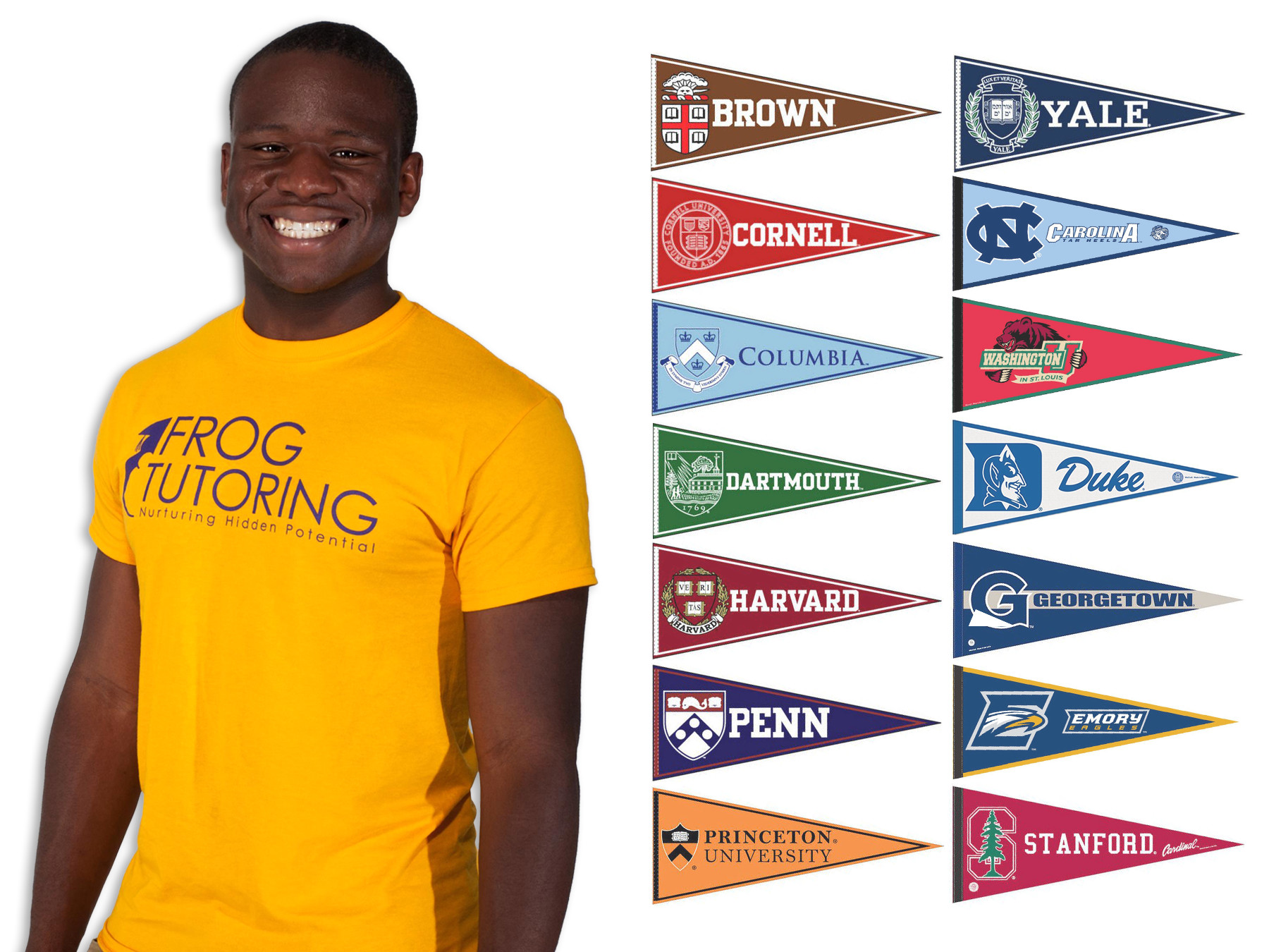 students accepted to every ivy league school look to share their victor agbafevictor and all the schools he was accepted into
