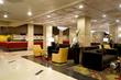 main lobby inside Plaza Hotel & Casino in Las Vegas